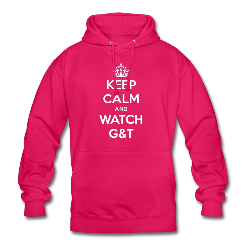 Maglietta donna Keep Calm - Felpa con cappuccio unisex