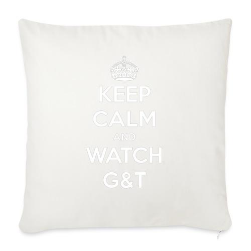 Maglietta donna Keep Calm - Copricuscino per divano, 44 x 44 cm