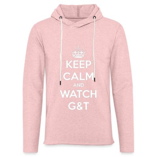 Maglietta donna Keep Calm - Felpa con cappuccio leggera unisex