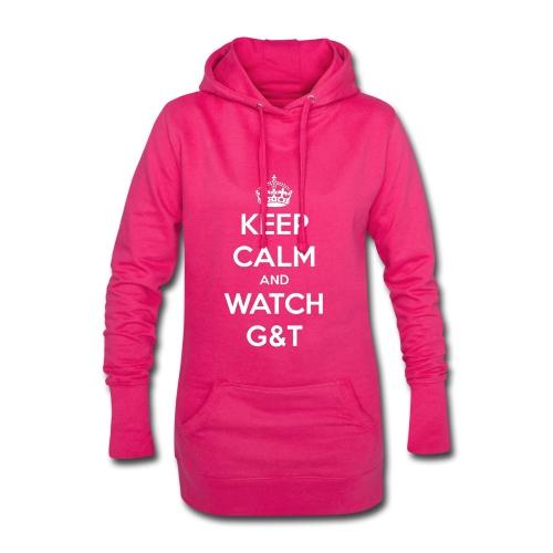 Maglietta donna Keep Calm - Vestitino con cappuccio