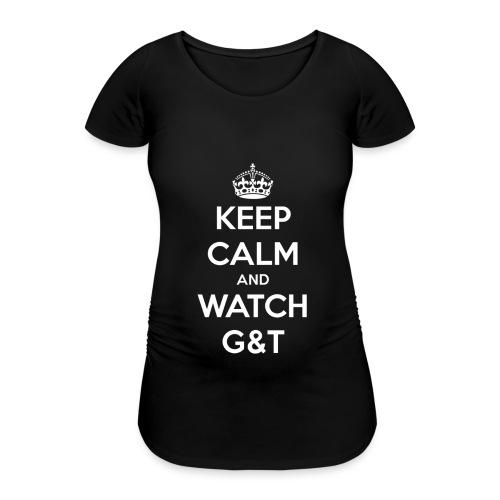 Maglietta donna Keep Calm - Maglietta gravidanza da donna