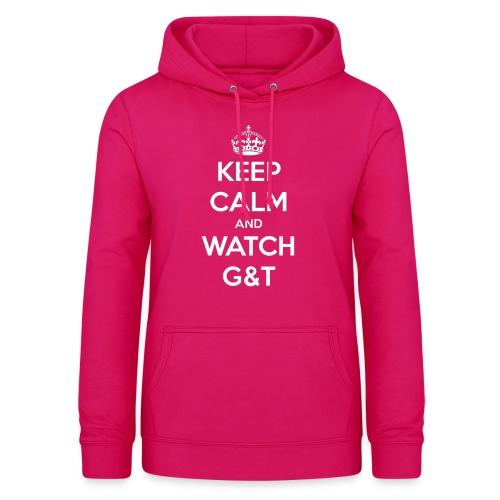 Maglietta donna Keep Calm - Felpa con cappuccio da donna