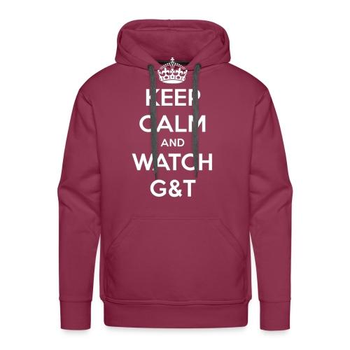 Maglietta donna Keep Calm - Felpa con cappuccio premium da uomo