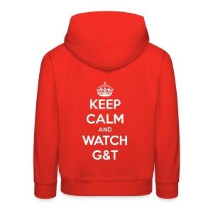 Maglietta donna Keep Calm - Felpa con cappuccio Premium per bambini