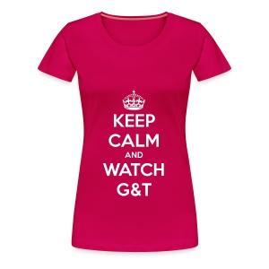 Maglietta donna Keep Calm - Maglietta Premium da donna