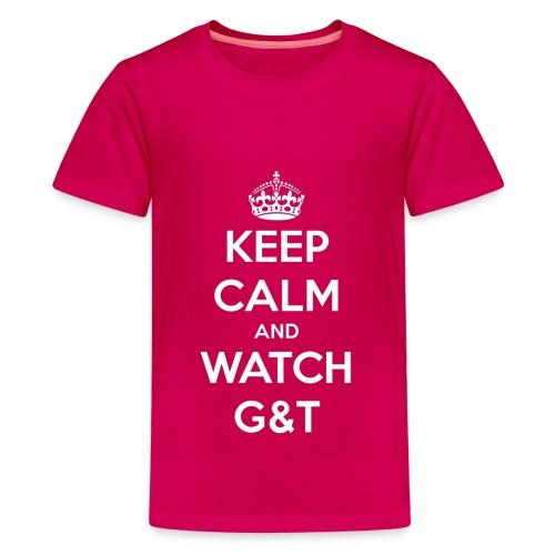 Maglietta donna Keep Calm - Maglietta Premium per ragazzi