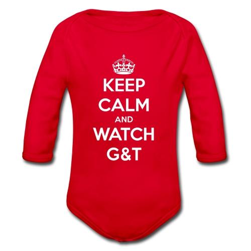 Maglietta donna Keep Calm - Body ecologico per neonato a manica lunga