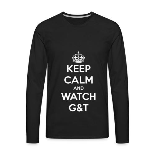 Maglietta donna Keep Calm - Maglietta Premium a manica lunga da uomo