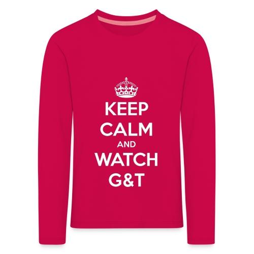 Maglietta donna Keep Calm - Maglietta Premium a manica lunga per bambini