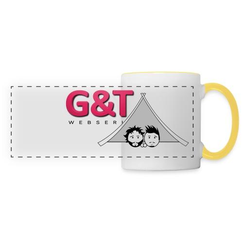 Maglietta uomo G&T tenda - Tazza con vista