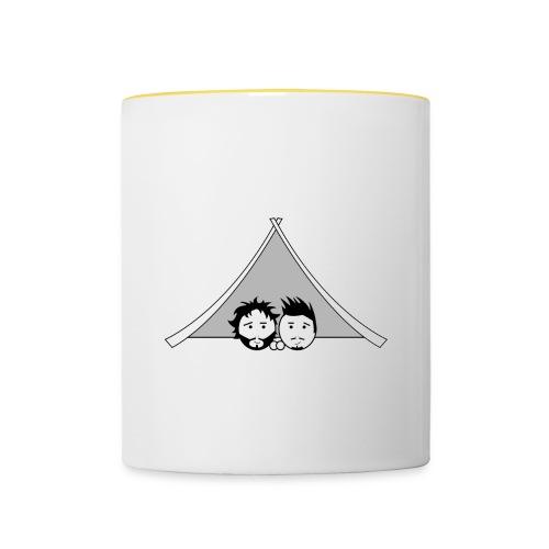 Maglietta uomo G&T tenda - Tazze bicolor