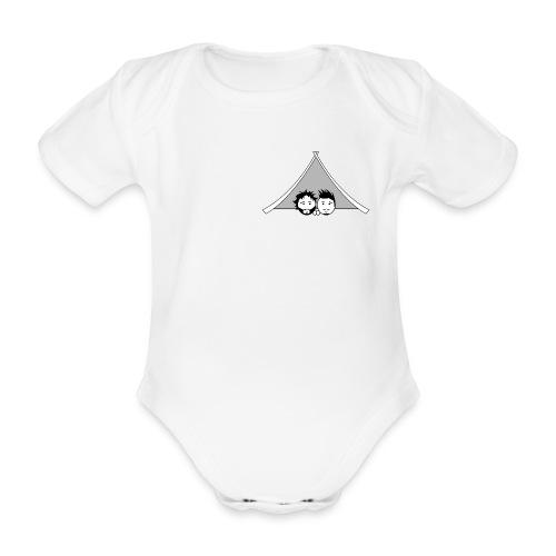 Maglietta uomo G&T tenda - Body ecologico per neonato a manica corta