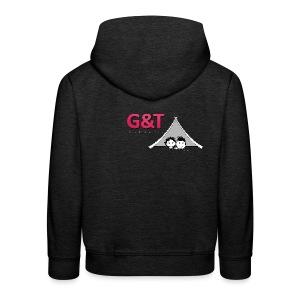 Maglietta uomo G&T tenda - Felpa con cappuccio Premium per bambini