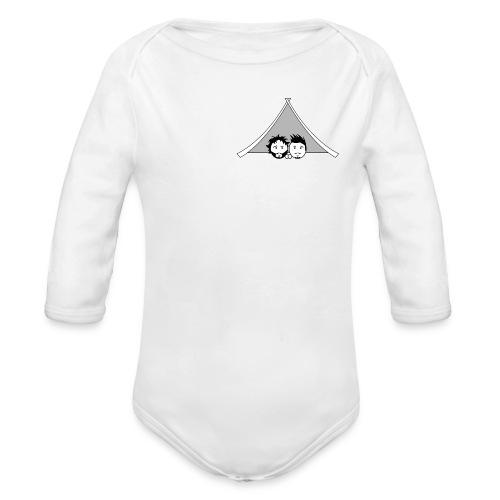 Maglietta uomo G&T tenda - Body ecologico per neonato a manica lunga