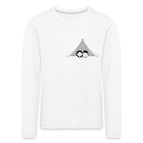 Maglietta uomo G&T tenda - Maglietta Premium a manica lunga per bambini