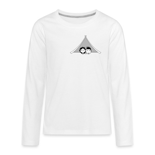 Maglietta uomo G&T tenda - Maglietta Premium a manica lunga per teenager