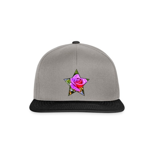 Rosen-Stern-Lila - Snapback Cap
