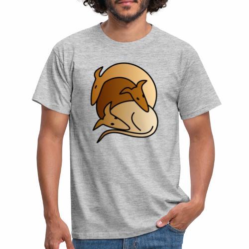 3 Galgos - Männer T-Shirt