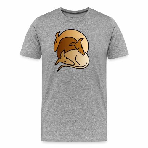 3 Galgos - Männer Premium T-Shirt