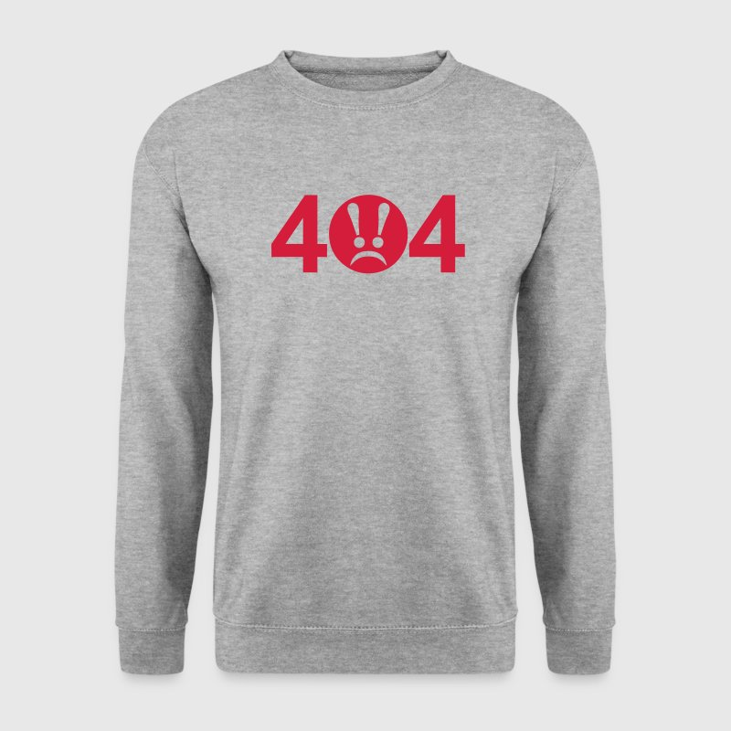 404 erreur error 0 Sweat-shirts - Sweat-shirt Homme