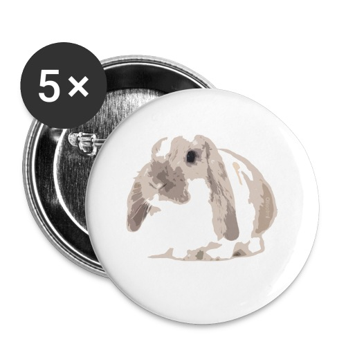 Lifeofmill  - Buttons small 1''/25 mm (5-pack)