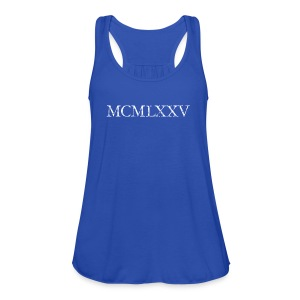 MCMLXXV Year 1975 Roman birthday year T-Shirts - Women's Tank Top by Bella