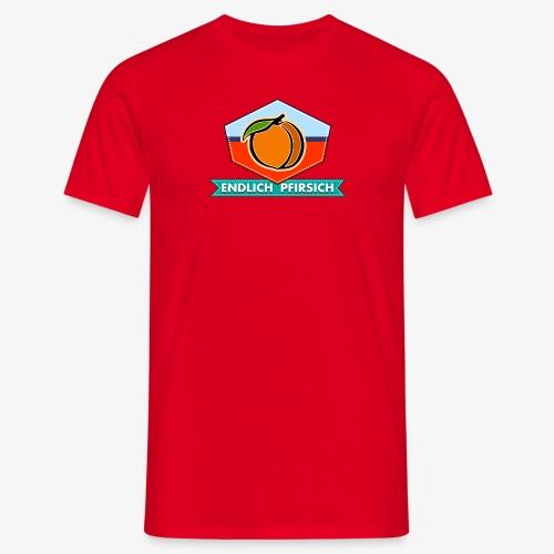 Endlich Pfirsich (Vierzig) - Männer T-Shirt