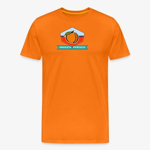 Endlich Pfirsich (Vierzig) - Männer Premium T-Shirt