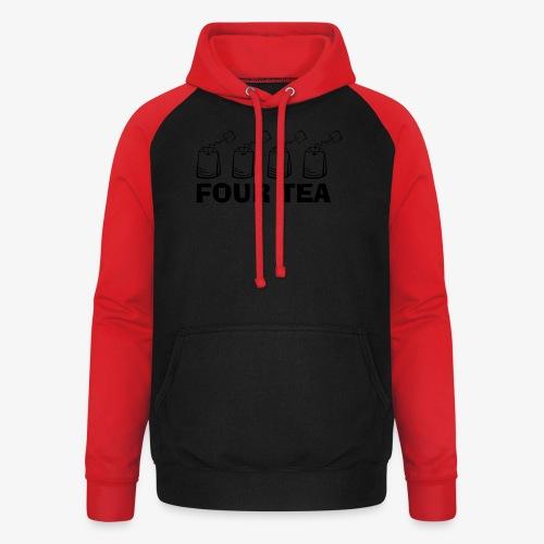 Forty - Four Tea - 40 - Unisex Baseball Hoodie