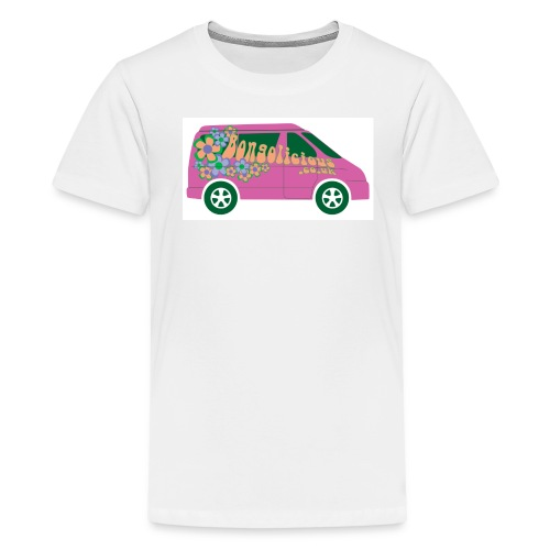 Pink Bongo Kids T-shirt - Teenage Premium T-Shirt