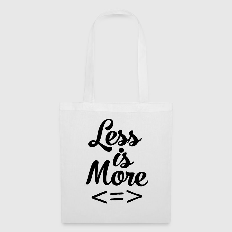Less Is More Borse & zaini - Borsa di stoffa