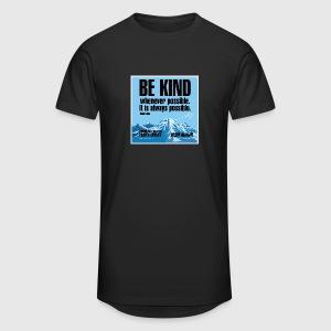Women  - tshirt - Be kind - Herre Urban Longshirt