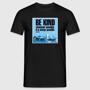 Women  - tshirt - Be kind - Herre-T-shirt