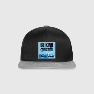 Women  - tshirt - Be kind - Snapback Cap