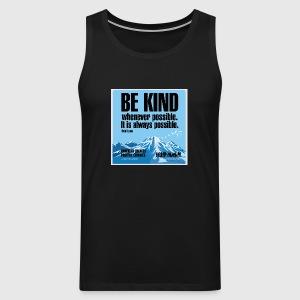 Women  - tshirt - Be kind - Herre Premium tanktop