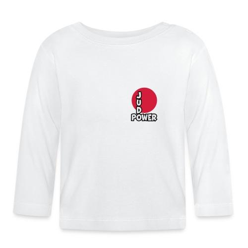 Judo-Power Logo Pur - Baby Langarmshirt
