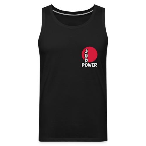 Judo-Power Logo Pur - Männer Premium Tank Top