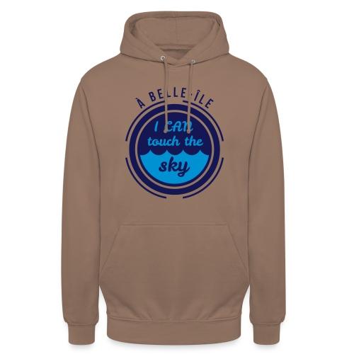 A Belle-Ile I can Fly - Jaune Velours - Sweat-shirt à capuche unisexe