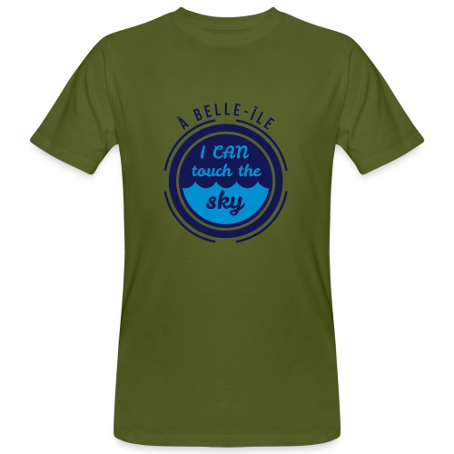 A Belle-Ile I can Fly - Jaune Velours - T-shirt bio Homme