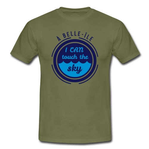 A Belle-Ile I can Fly - Jaune Velours - T-shirt Homme