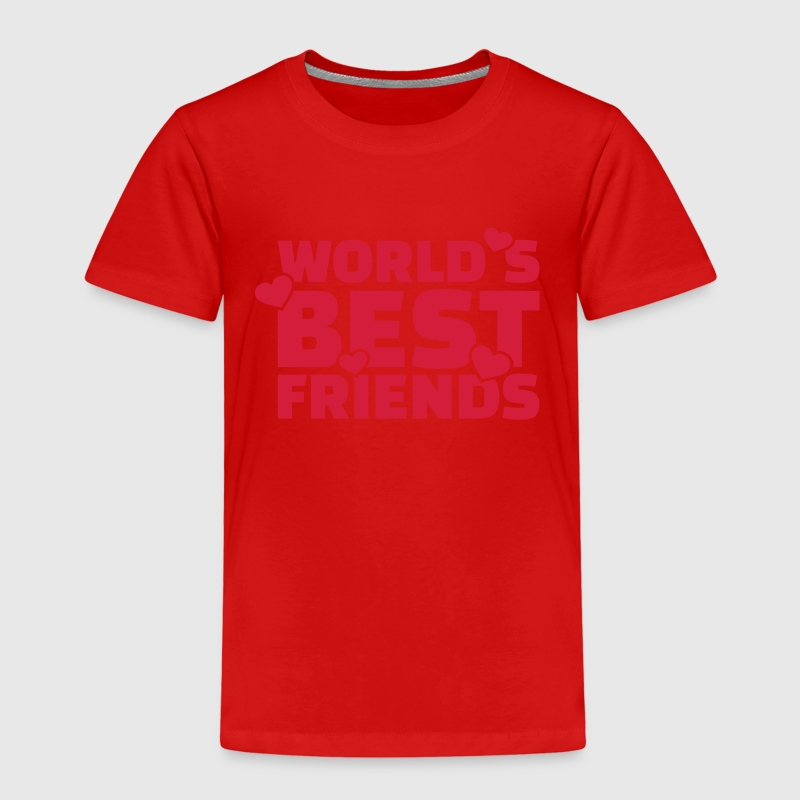World's best friends T-Shirts - Kinder Premium T-Shirt