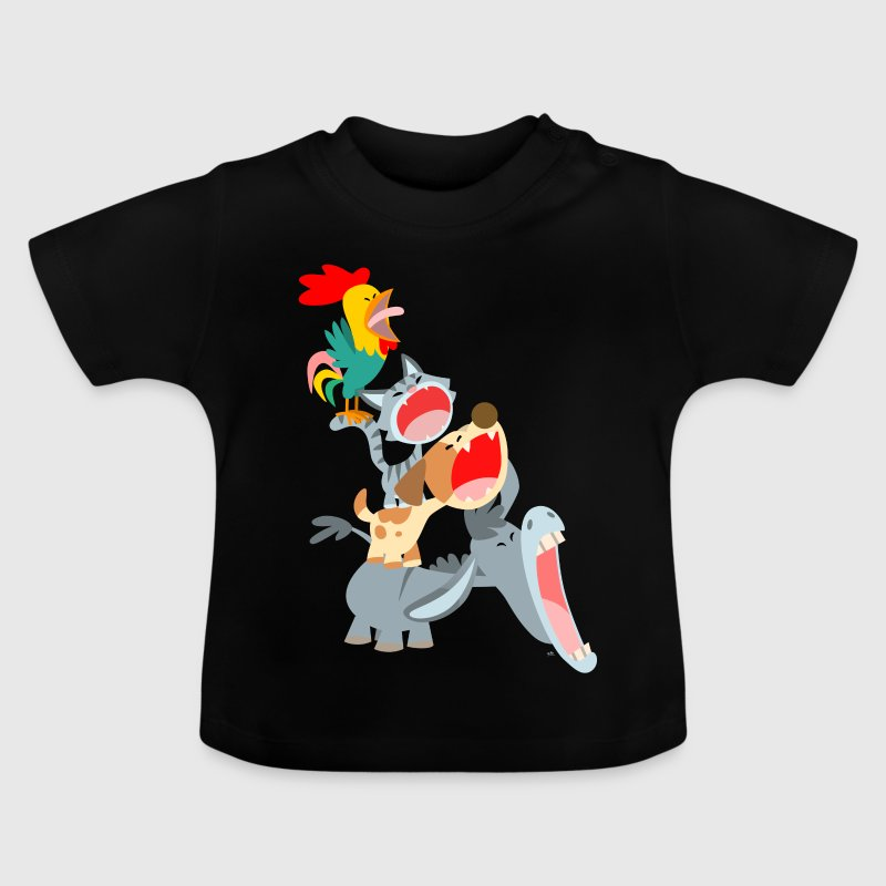 Bremen Town Musicians by Cheerful Madness!! Shirts - Baby T-Shirt
