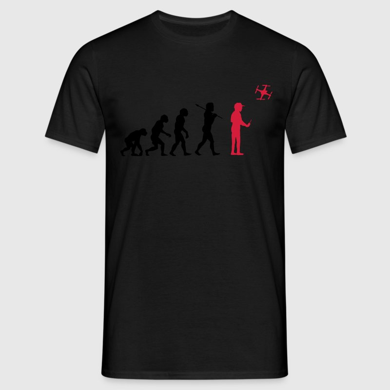 The drone evolution T-shirts - Mannen T-shirt
