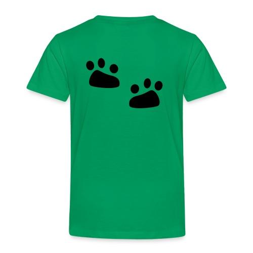 Tierspuren, Natur, Wildnis Pullover & Hoodies - Kinder Premium T-Shirt