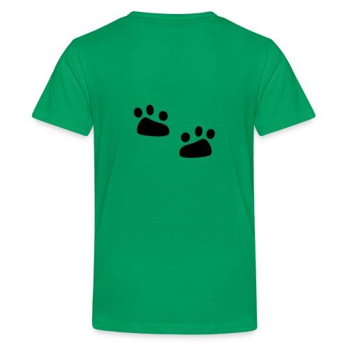 Tierspuren, Natur, Wildnis Pullover & Hoodies - Teenager Premium T-Shirt