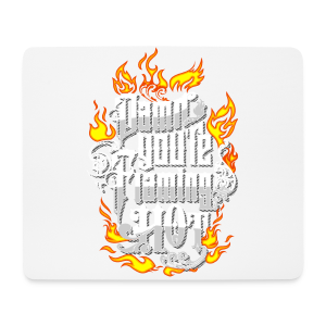 Flaming Hot (Color) (unisex) - Mousepad (bredformat)