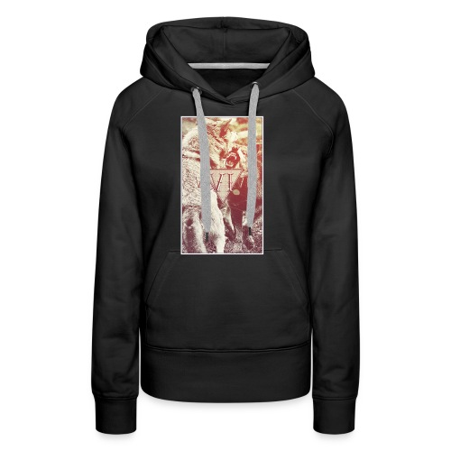 Wild Grey Wolfs - Frauen T-Shirt - Frauen Premium Hoodie