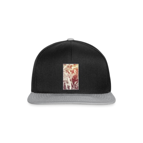 Wild Grey Wolfs - Frauen T-Shirt - Snapback Cap