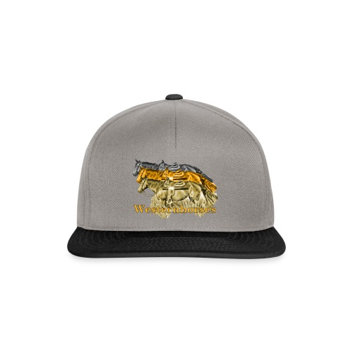 Motiv-193-Schwarz-Braun - Snapback Cap