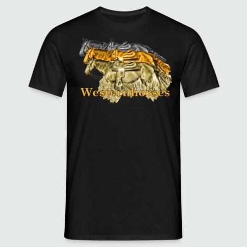 Motiv-193-Schwarz-Braun - Männer T-Shirt